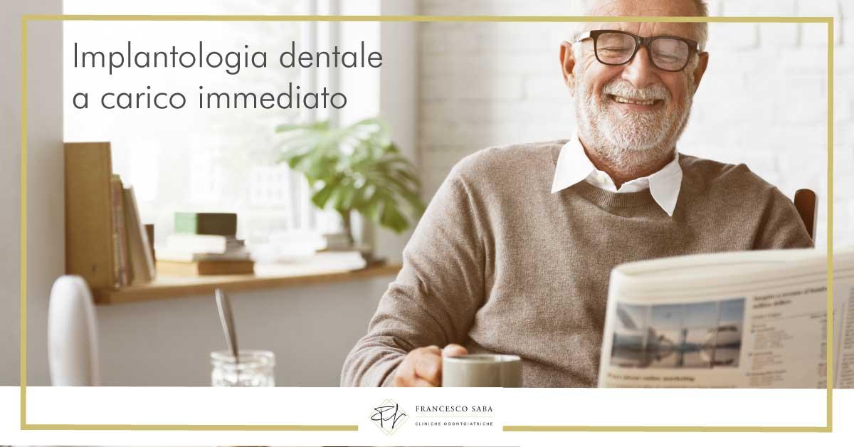 Implantologia dentale a carico immediato - Francesco Saba | Cliniche Odontoiatriche a Roma