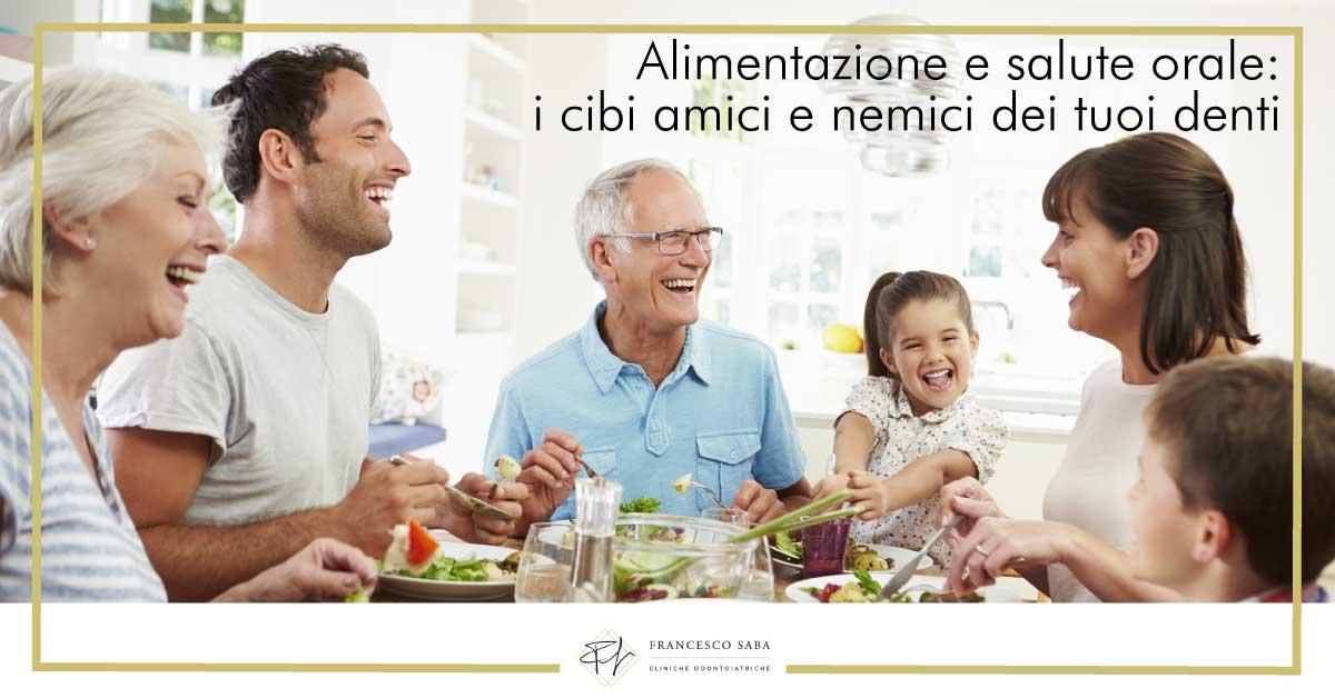 Alimentazione e salute | Cliniche Odontoiatriche a Roma