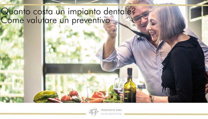 Quanto costa un impianto dentale | Cliniche Francesco Saba